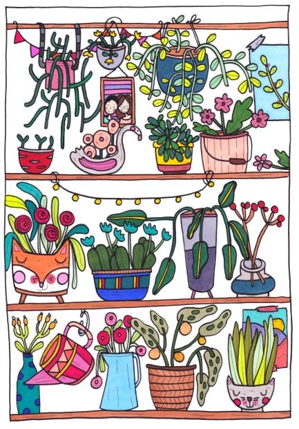 kast planten